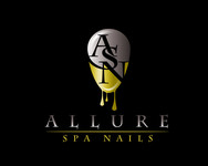 Allure Spa Nails Logo - Entry #8