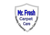 Mr. Fresh Carpet Care Logo - Entry #36