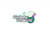 Logo for our Baby product store - Our Baby Our World - Entry #99