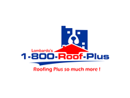 1-800-Roof-Plus Logo - Entry #180