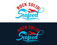 Rock Solid Seafood Logo - Entry #150