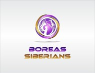 Siberian Husky Logo - Entry #108