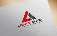 Leah's auto & nail lounge Logo - Entry #199