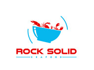 Rock Solid Seafood Logo - Entry #102