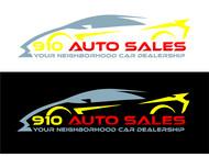910 Auto Sales Logo - Entry #36