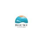Blue Sky Life Plans Logo - Entry #6
