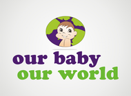 Logo for our Baby product store - Our Baby Our World - Entry #80