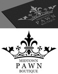 Either Midtown Pawn Boutique or just Pawn Boutique Logo - Entry #73