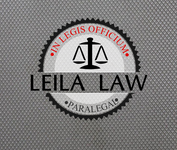 Leila Law Logo - Entry #116
