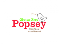 gluten free popsey  Logo - Entry #88
