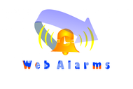 Logo for WebAlarms - Alert services on the web - Entry #37