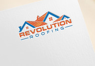 Revolution Roofing Logo - Entry #249