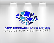 Sapphire Shades and Shutters Logo - Entry #202