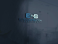 Elite Construction Services or ECS Logo - Entry #32