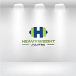 Heavyweight Jiujitsu Logo - Entry #310