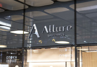 Allure Spa Nails Logo - Entry #119