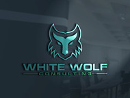 White Wolf Consulting (optional LLC) Logo - Entry #382