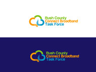 Rush County Connect Broadband Task Force Logo - Entry #21