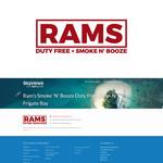 Rams Duty Free + Smoke & Booze Logo - Entry #267