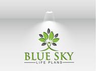 Blue Sky Life Plans Logo - Entry #274