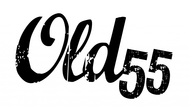 """""""OLD 55"""" - mid-century vintage furniture and wares store Logo - Entry #72"""