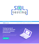SQL Testing Logo - Entry #393