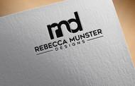 Rebecca Munster Designs (RMD) Logo - Entry #210