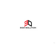 3D Sign Solutions Logo - Entry #90