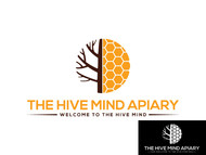 The Hive Mind Apiary Logo - Entry #109