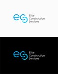 Elite Construction Services or ECS Logo - Entry #257