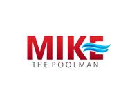 Mike the Poolman  Logo - Entry #53