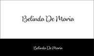 Belinda De Maria Logo - Entry #128