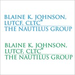 Blaine K. Johnson Logo - Entry #76