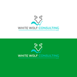 White Wolf Consulting (optional LLC) Logo - Entry #470