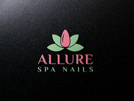 Allure Spa Nails Logo - Entry #54