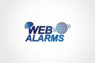 Logo for WebAlarms - Alert services on the web - Entry #195