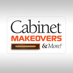 Cabinet Makeovers & More Logo - Entry #206