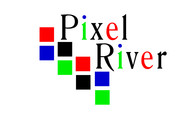 Pixel River Logo - Online Marketing Agency - Entry #76
