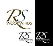 Woodwind repair business logo: R S Woodwinds, llc - Entry #76