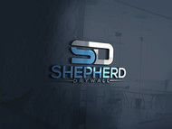 Shepherd Drywall Logo - Entry #126