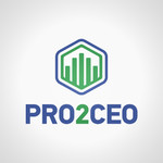 PRO2CEO Personal/Professional Development Company  Logo - Entry #114