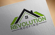 Revolution Roofing Logo - Entry #388
