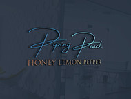 Piping Peach, Honey Lemon Pepper Logo - Entry #31