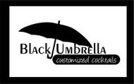 Black umbrella coffee & cocktail lounge Logo - Entry #184