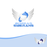 Siberian Husky Logo - Entry #38