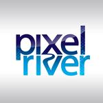 Pixel River Logo - Online Marketing Agency - Entry #200