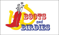 Boots and Birdies Logo - Entry #41