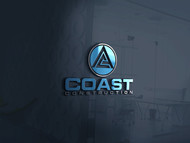 CA Coast Construction Logo - Entry #178