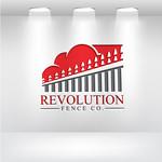 Revolution Fence Co. Logo - Entry #129
