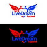 LiveDream Apparel Logo - Entry #431
